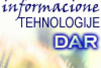 Informacione tehnologije Dar