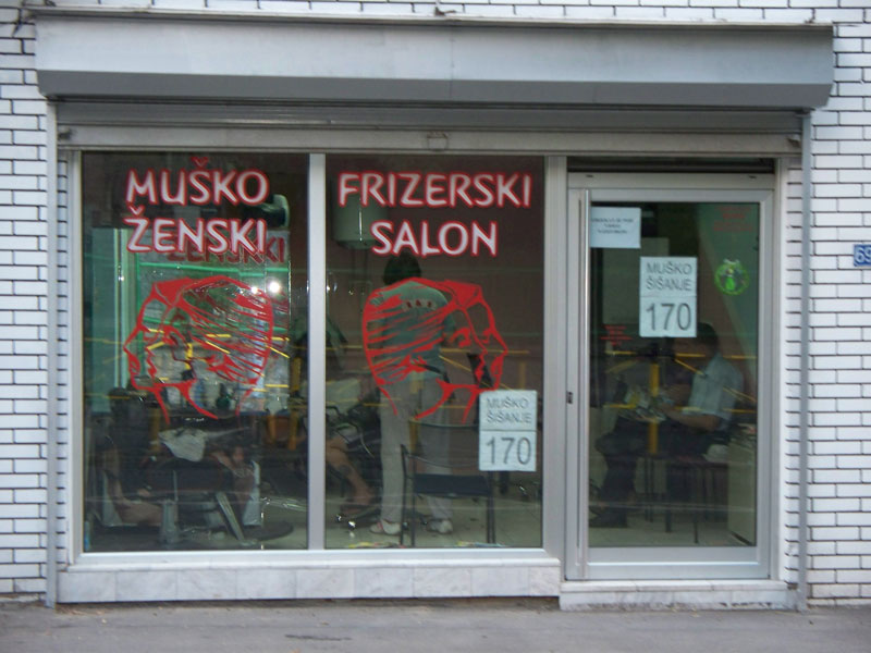 Frizerski salon Boris