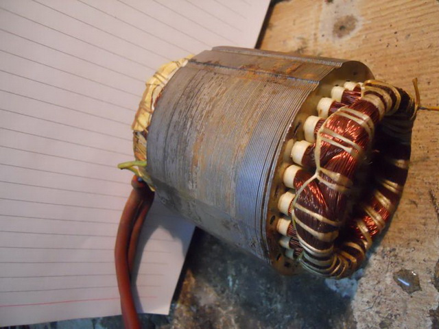Viklovanje motora Top Motor