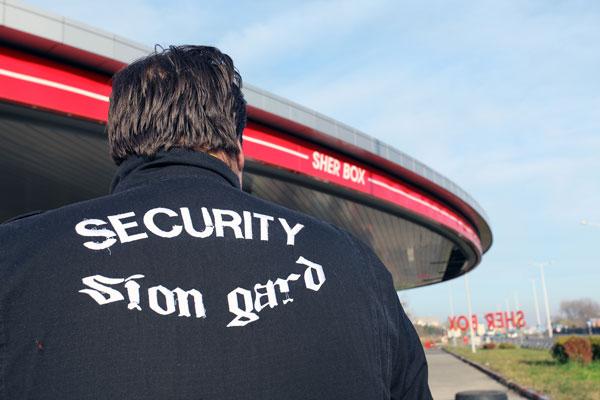 Obezbedjenje Sion Gard