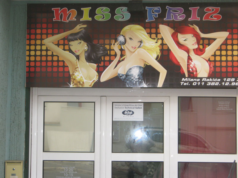 Frizerski salon Miss Friz