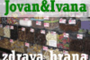 Zdrava hrana Jovan & Ivana