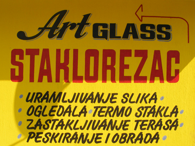 Staklorezačka radnja Art Glass