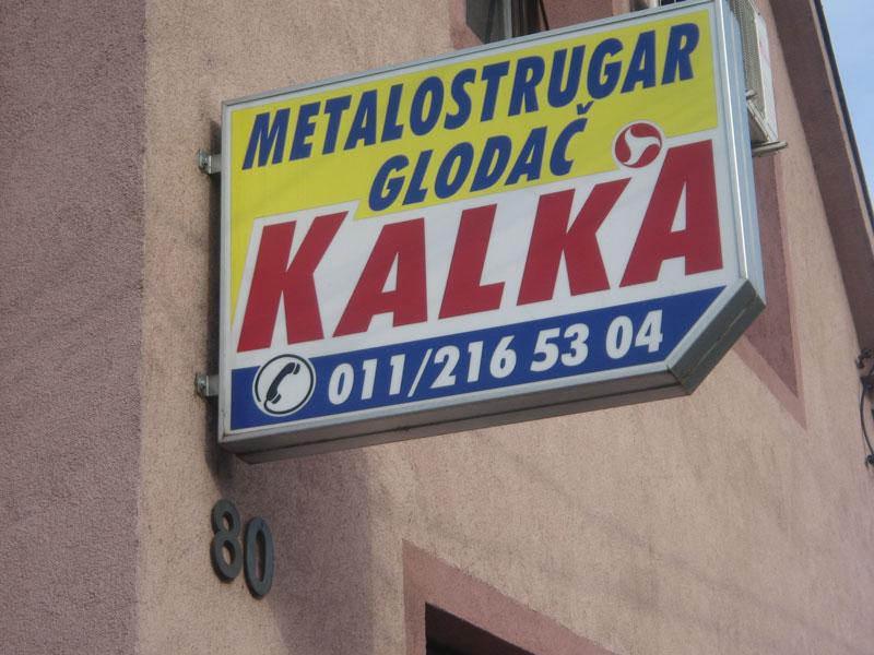 Mašinska obrada Kalka