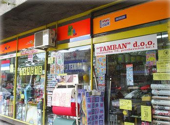 Boje, lakovi i tapete Tamban