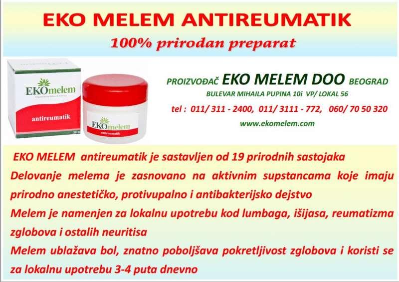 Prirodni preparati i melemi Eko Melem
