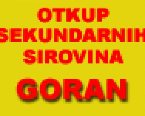 Otkup sekundarnih sirovina Goran