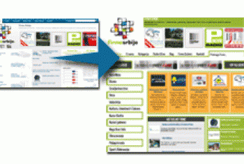 Novi dizajn internet portala FIRMESRBIJE