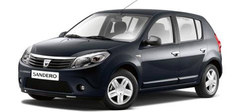 Blue Rent A Car