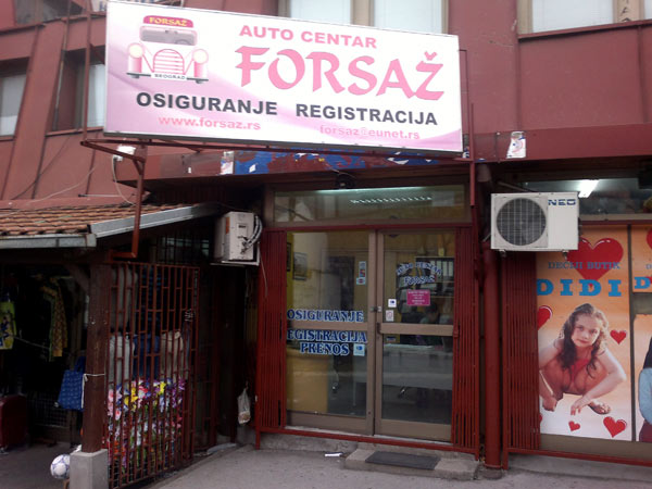 Tehnički pregled i registracija vozila Forsaž