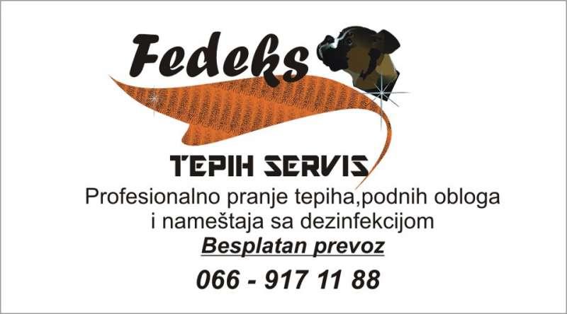 Tepih servis Fedeks