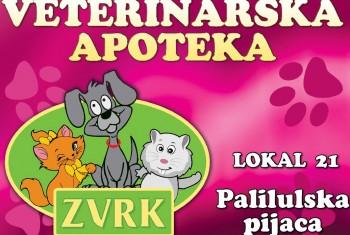 Veterinarska apoteka i pet shop Zvrk