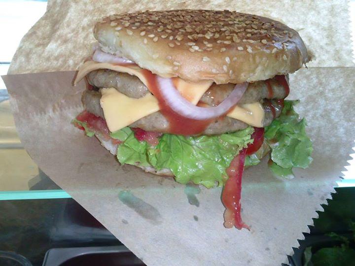 Fast food Papas Burger