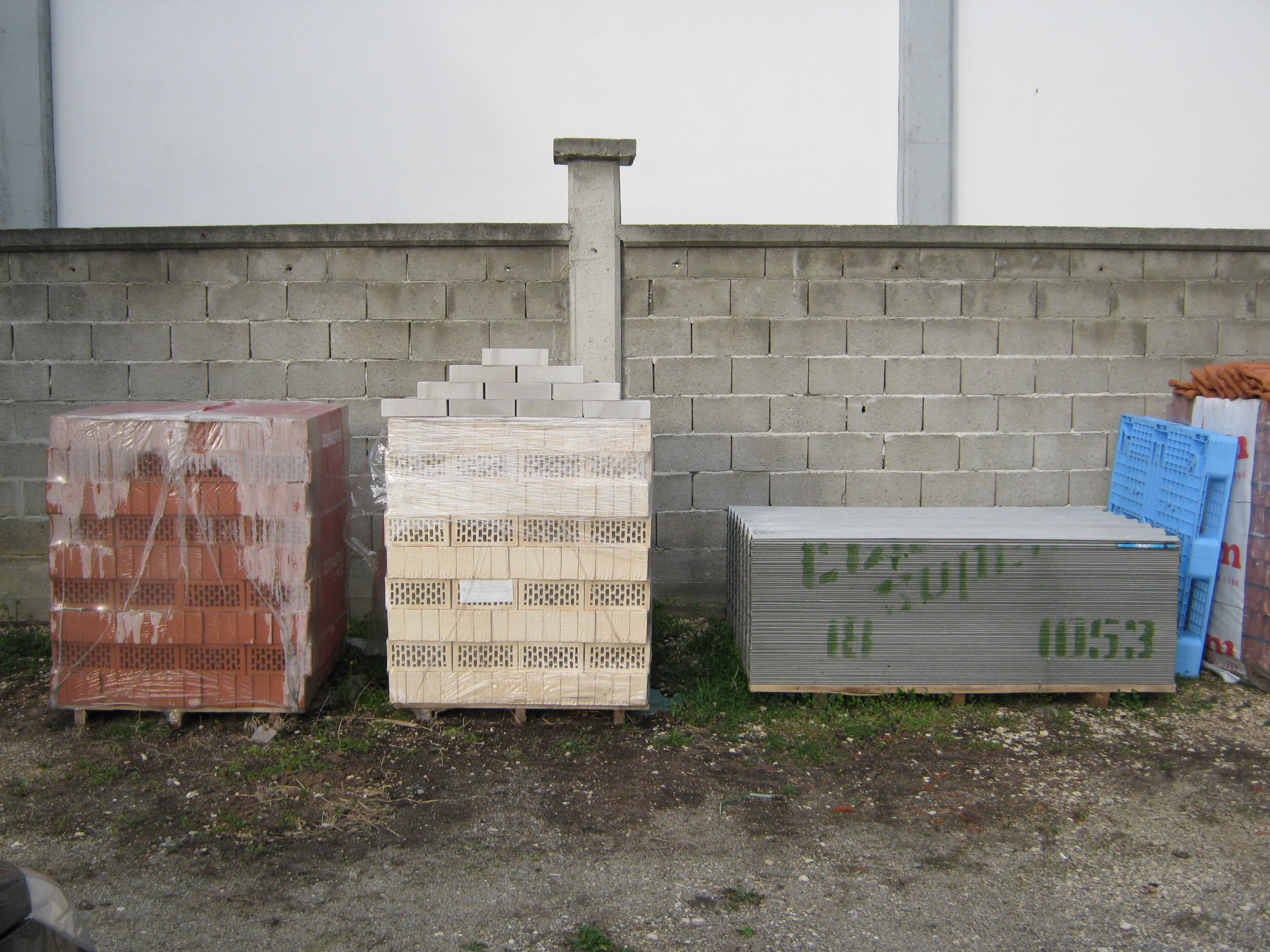 Stovarište građevinskog materijala TRM Promet