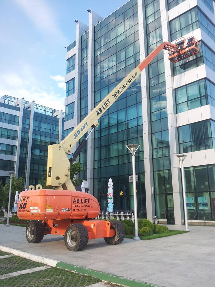 Iznajmljivanje građevinskih mašina AB Lift