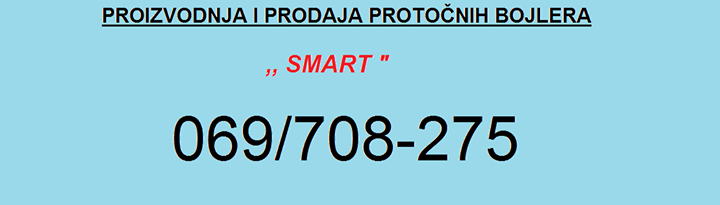 Protočni bojleri Smart