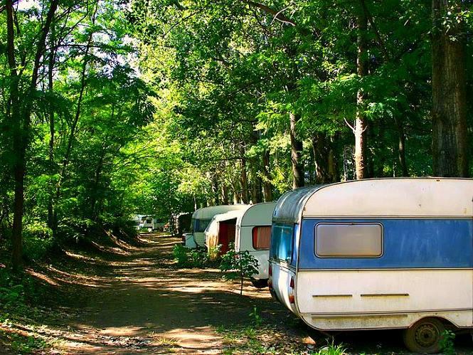 Auto kamp Aniva Silver Lake
