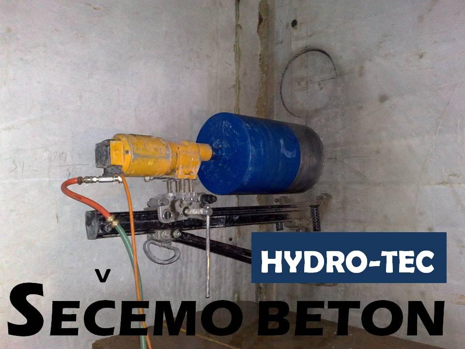 Sečenje betona Hydro-Tec-Beton