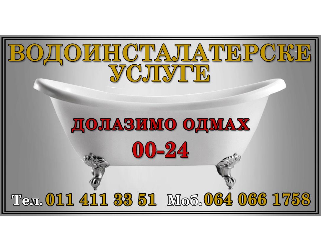 Vodoinstalater Radanović RN