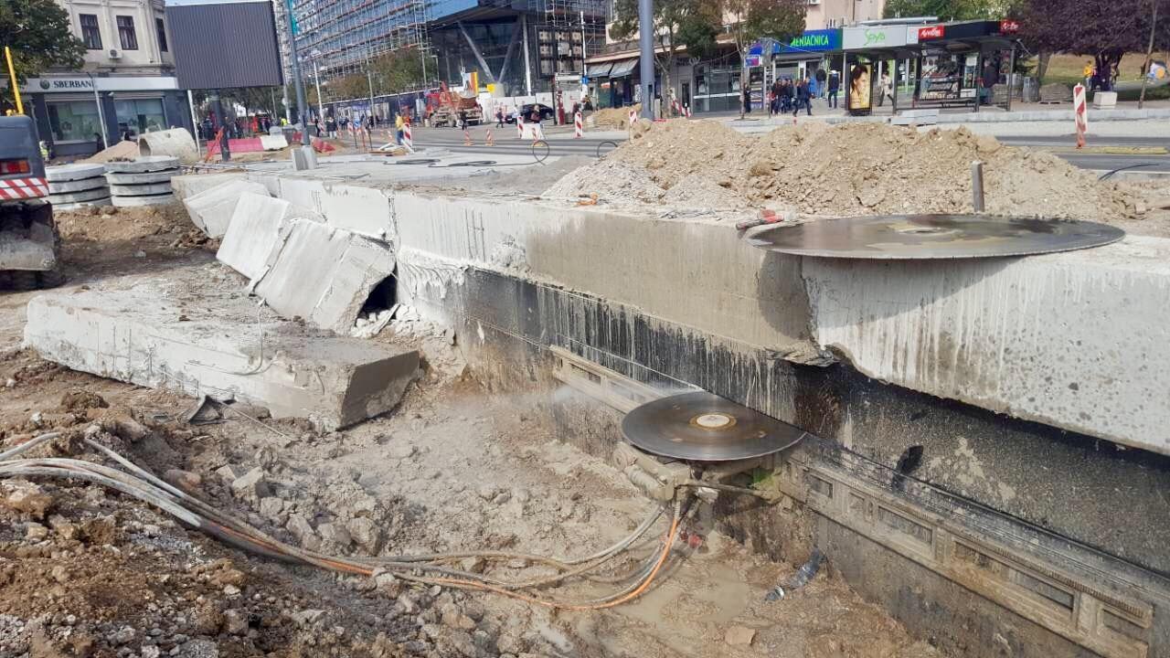 Dijamantsko sečenje i bušenje betona Mega Plus ST