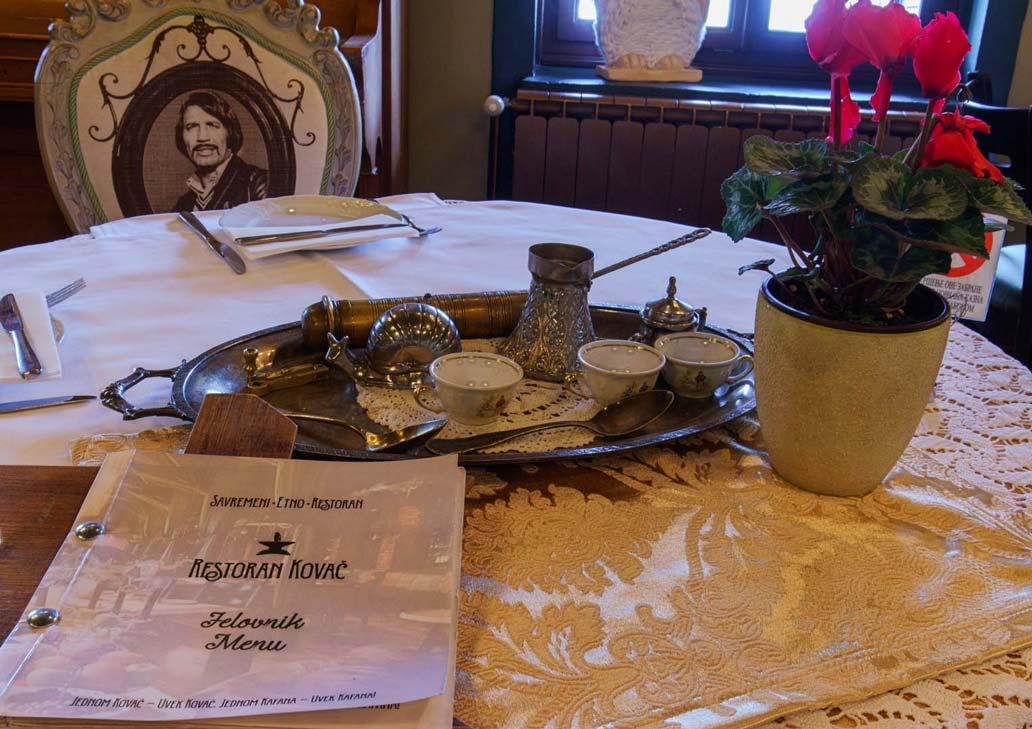 Savremeni etno restoran Kovač