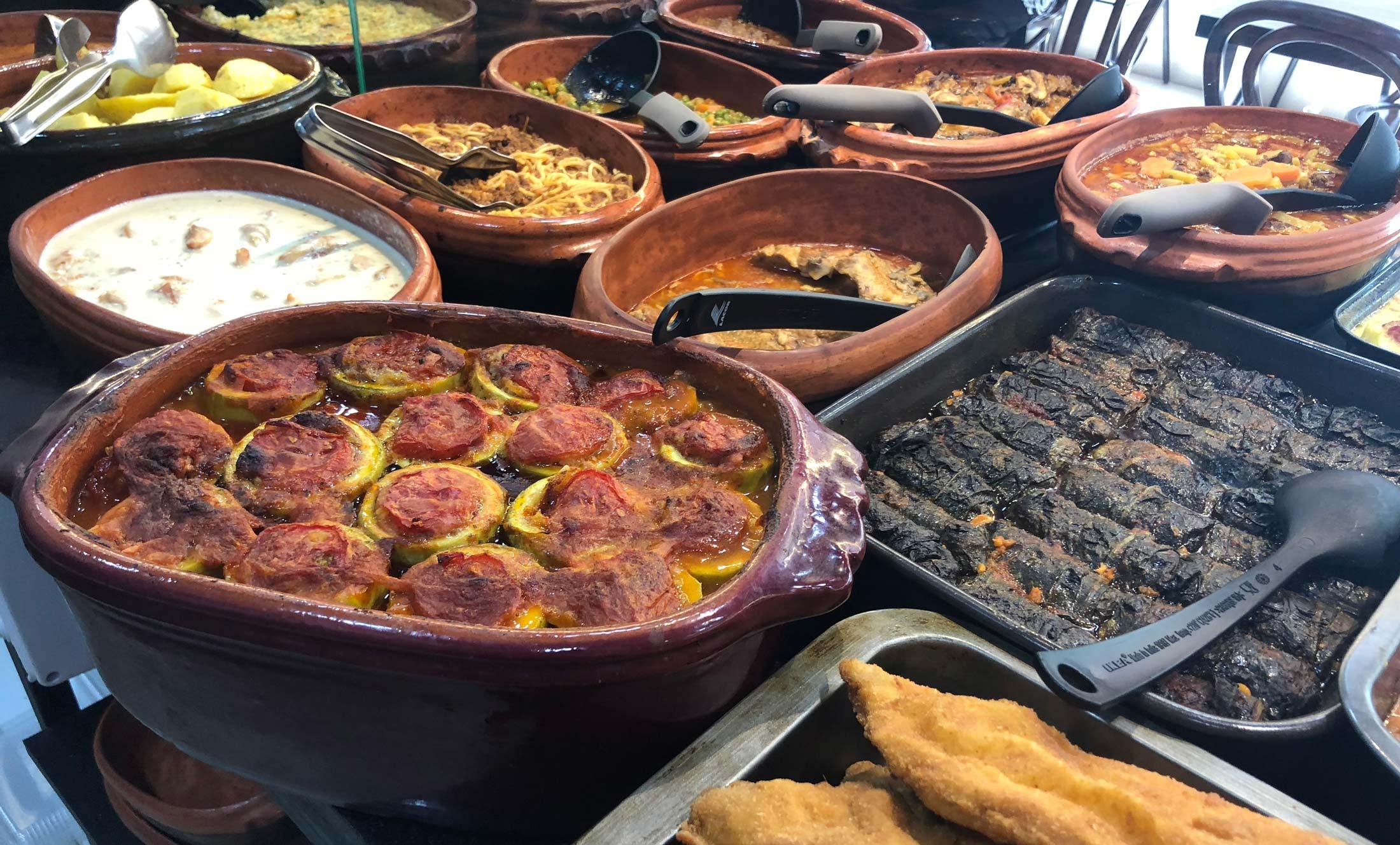 Domaće pite i kuvana jela Oklagija