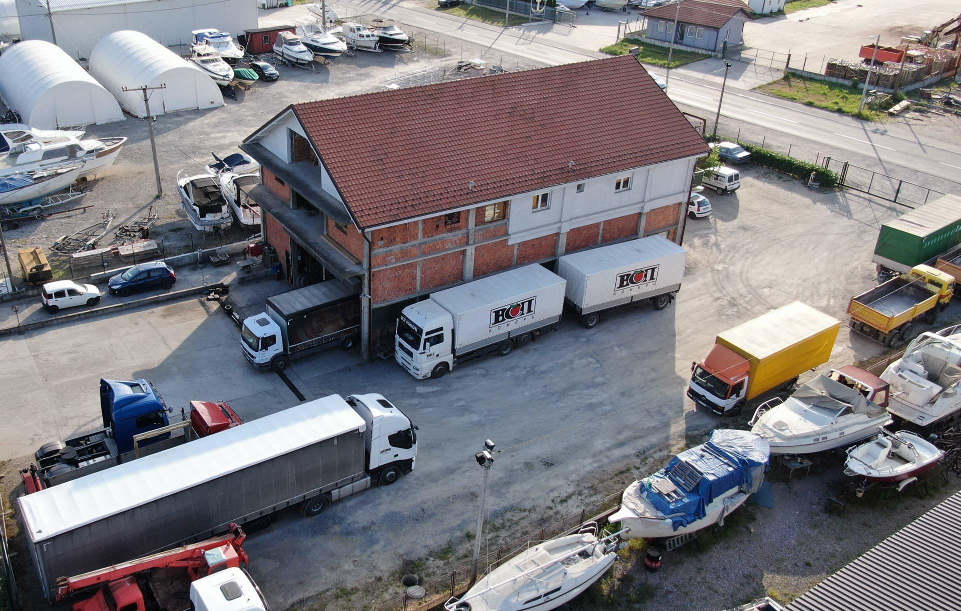 Servis kamiona i delovi Laki Dućan